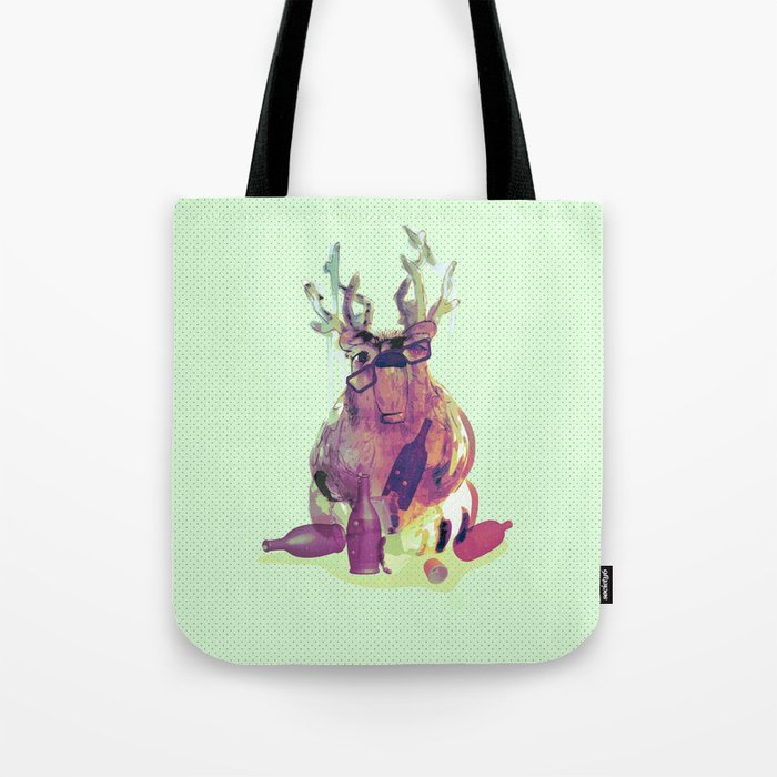 Party Hard Like a Bear Tote Bag