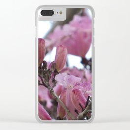 Cherry Blossoms 1 Clear iPhone Case