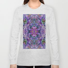 136 - Garden design Long Sleeve T-shirt