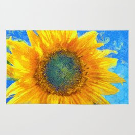 Happy Sunflower Rug