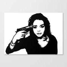 Lindsay Lohan. Canvas Print