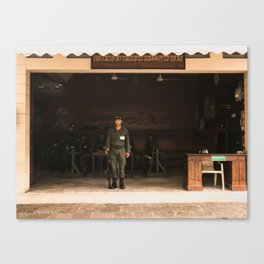 on guard Canvas Print