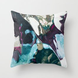 Arctic Chameleon Throw Pillow