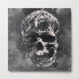 Skull III Metal Print