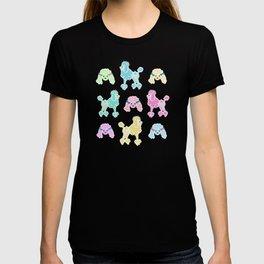 Pastel Poodles T-shirt