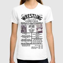 #8 Memphis Wrestling Window Card T-shirt