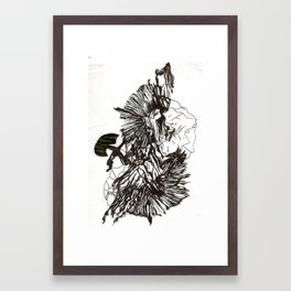 Print design development  Framed Art Print