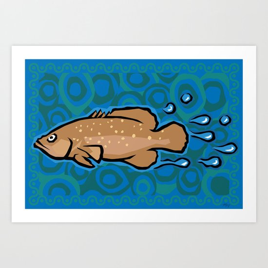 Soap Fish Art Print