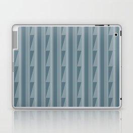 Modern Geometric Pattern 8 in Teal Laptop & iPad Skin