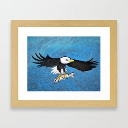 Regal Eagle Framed Art Print