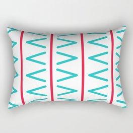Geometric bright design Rectangular Pillow