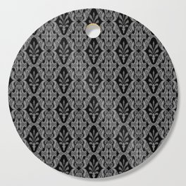 Gray Ikat Cutting Board