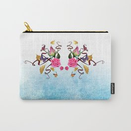 Gold and roses Carry-All Pouch