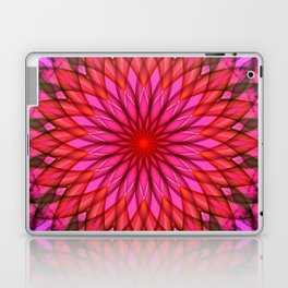 Pink,red and fuchsia color mandala Laptop & iPad Skin