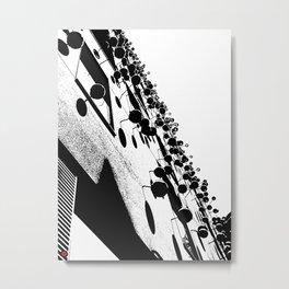 Barna Love B&W Metal Print