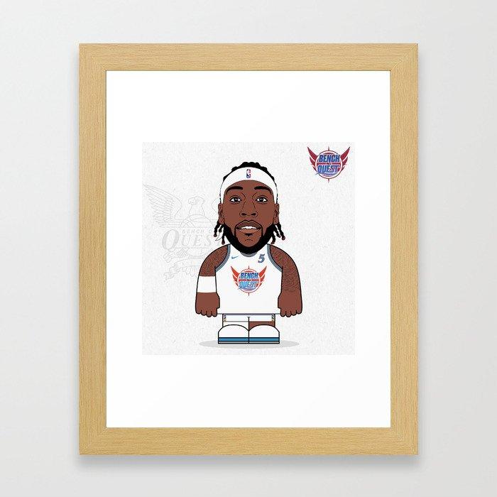 Trezz B*O*A*Q Framed Art Print