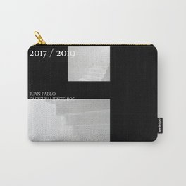 Casa Esquina Poster Black Carry-All Pouch