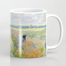 Poppy Fields near Argenteuil by Claude Monet Coffee Mug