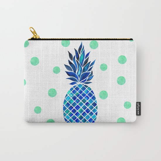 Maritime Pineapple Carry-All Pouch