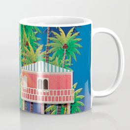 Palolem Beach Huts Coffee Mug