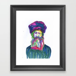 Rav Kook  Framed Art Print