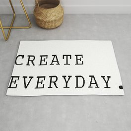 Create Everyday Rug