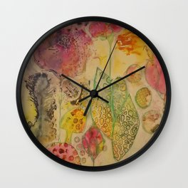 Curiouser and Curiouser Wall Clock