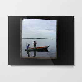 Living Room Window Metal Print