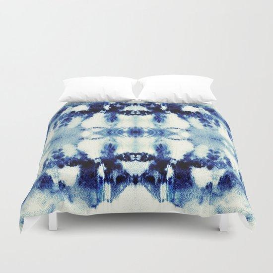 Tie Dye Blues Duvet Cover By Nina May Designs Society6