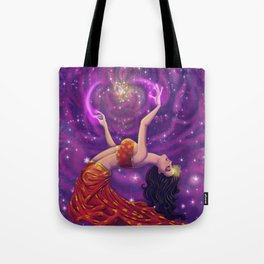 Lemurian Goddess of Love Tote Bag