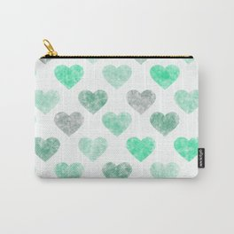 Cute Hearts X .3 Carry-All Pouch