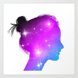 Star Sister / Color 1 Art Print