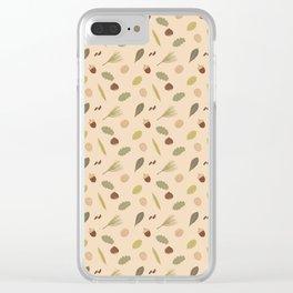 Otoño Clear iPhone Case