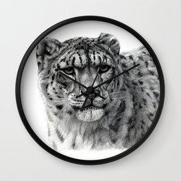 Snow Leopard G2010-003 Wall Clock