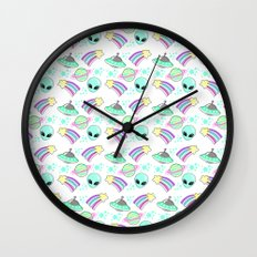 In Space You're Adorable Wall Clock