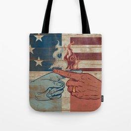 Blame US Tote Bag
