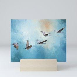 Magic Of Beginnings - Bird Art Mini Art Print