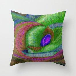 NERPLE Wild Rose (Rainbow Rose) Throw Pillow