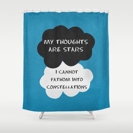 The Fault 03 Shower Curtain