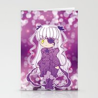 chibi Stationery Cards featuring Chibi Barasuishou by Yue Graphic Design