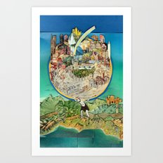 World In Harmony Art Print