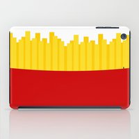 fries iPad Cases featuring Fries by Jiro Tamase