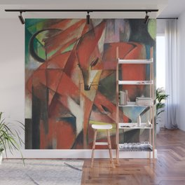 Franz Marc - The Foxes Wall Mural