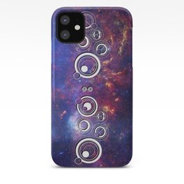 DOCTOR WHO TIMEY-WIMEY WITH THE MILKY WAY iPhone Case