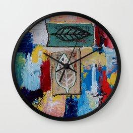 Open Me 7 Wall Clock