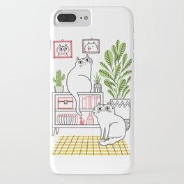Cat Decor iPhone Case
