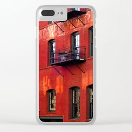 Filson building, Portland, Oregon Clear iPhone Case