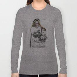 The haunted angel Long Sleeve T-shirt