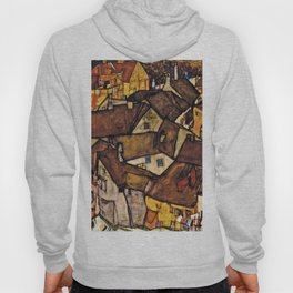 Egon Schiele - Krumau - Crescent Of Houses Hoody