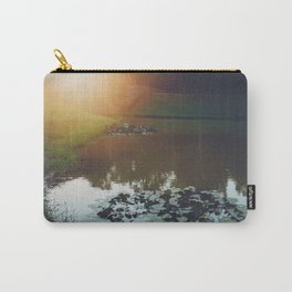 Sunset at Red Bridge Carry-All Pouch
